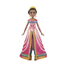 Disney Jasmine Deluxe Fashion Doll with Gown, Shoes, and Accessories