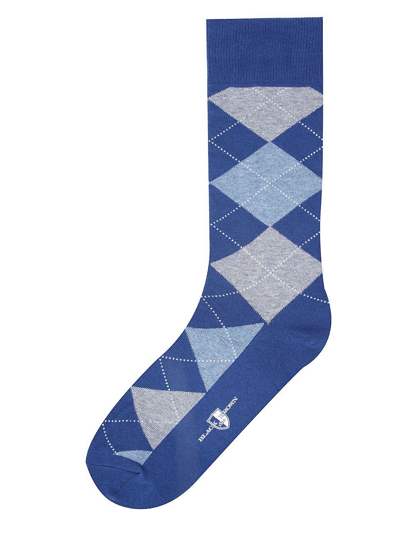 Club Argyle Dress Socks