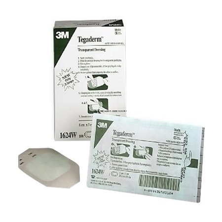 Nexcare Tegaderm Transparent Dressing - 2-3/8 Inches X 2-3/4 Inches - (Transparent Frames)