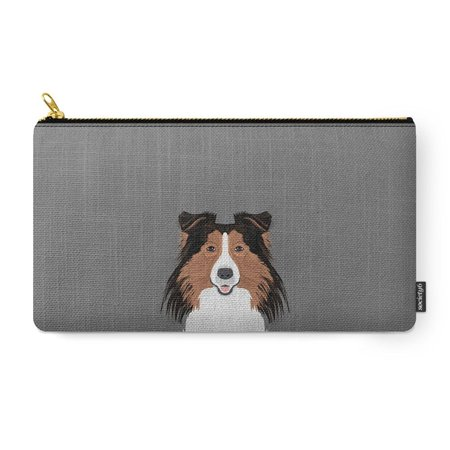 Society6 Jordan   Shetland Sheep Dog Gifts For Sheltie Owners And Dog People Gift Ideas Perfect Dog Gifts Carry All Pouch