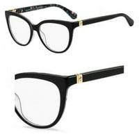 bdd97aa81d1dc Product Image Eyeglasses Kate Spade Cherette 0INA Dmnfbr Black
