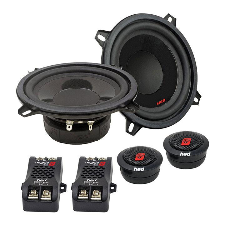 "Cerwin Vega HED 5.25"" 2-way component l speaker set - 360W MAX / 50W RMS*H7525C*"