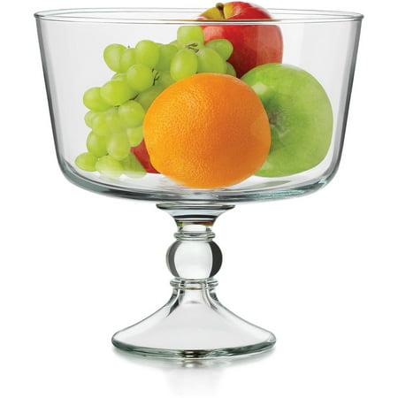 Libbey Trifle Bowl](Large Plastic Trifle Bowl)