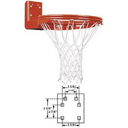- First Team Super Duty Double Rim Rear Mount Fixed Basketball Goal