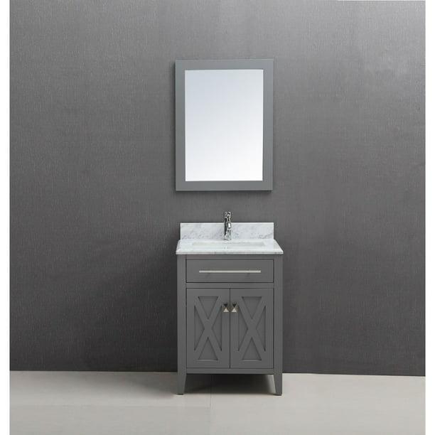 30 Inch Vanities Gray Bathroom Vanities Bath The Home Depot