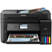 Epson WorkForce ST-4000 Inkjet Multifunction Printer - Color - Copier/Fax/Printer/Scanner - 4800 x 1200 dpi Print - Automatic Duplex Print - 2400 dpi Optical Scan - 150 sheets Input - Fast Ethernet -