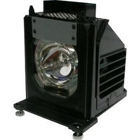 wd-57733 mitsubishi dlp tv lamp replacement. lamp assembly with genuine osram neolux bulb inside. ()