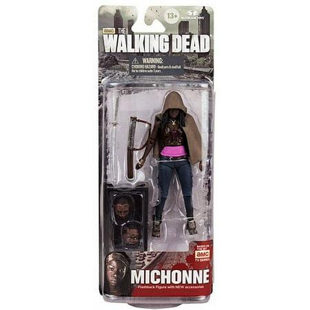 McFarlane Walking Dead Series 6 Michonne Action Figure [Fish Tank & 2 Heads] (Action Tank)