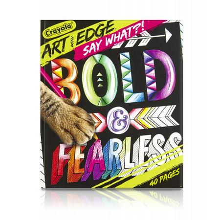 Crayola Art With Edge  Say What  40 Premium Coloring Books