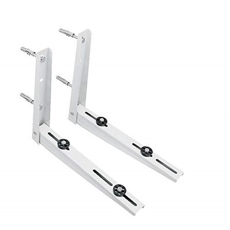 AC Parts Wall Mounting Bracket for Ductless Mini Split Air Conditioner Condensing Heat Pump Systems, Universal, Condenser, 1-2P, Support up to 264lbs