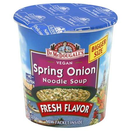 Dr. McDougall's Vegan Spring Onion Noodle Soup, 1.9