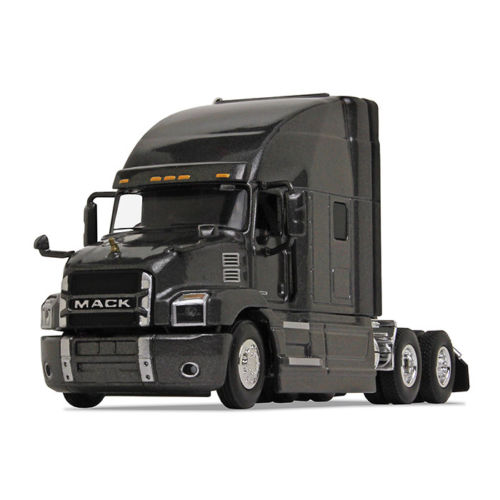 Firstgear 1/64 scale Diecast Collectible Graphite Gray Mack Anthem Sleeper Cab Tractor (#60-0364)