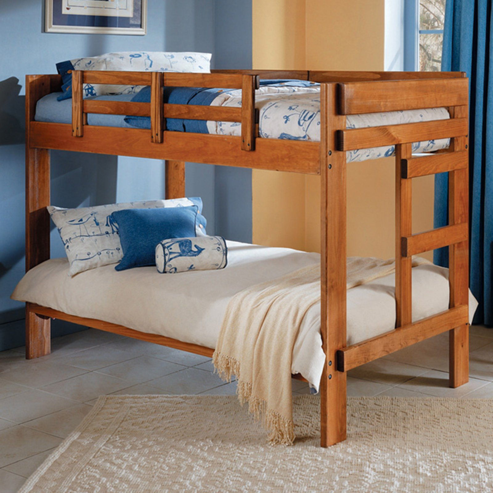 Woodcrest Heartland Twin over Twin Bunk Bed
