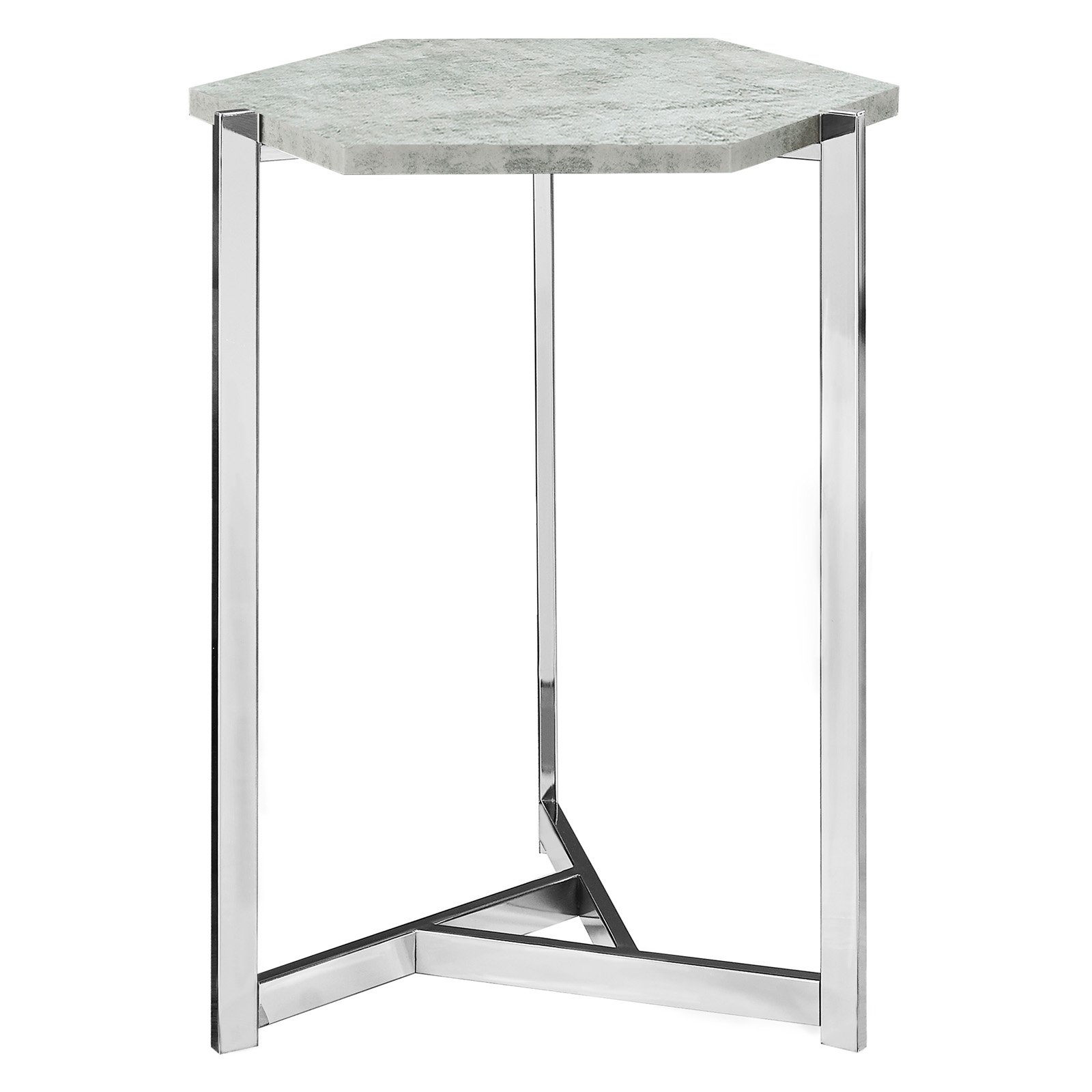 Monarch Specialties Hexagon Accent Table by monarch