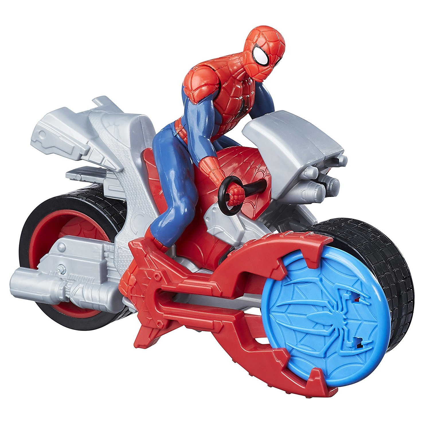 Marvel Blast N' Go Racer with Cycle..., By Spider-Man Ship from US