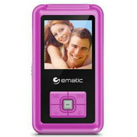 "Ematic 1.5"" Mp3 Video Player Pink"