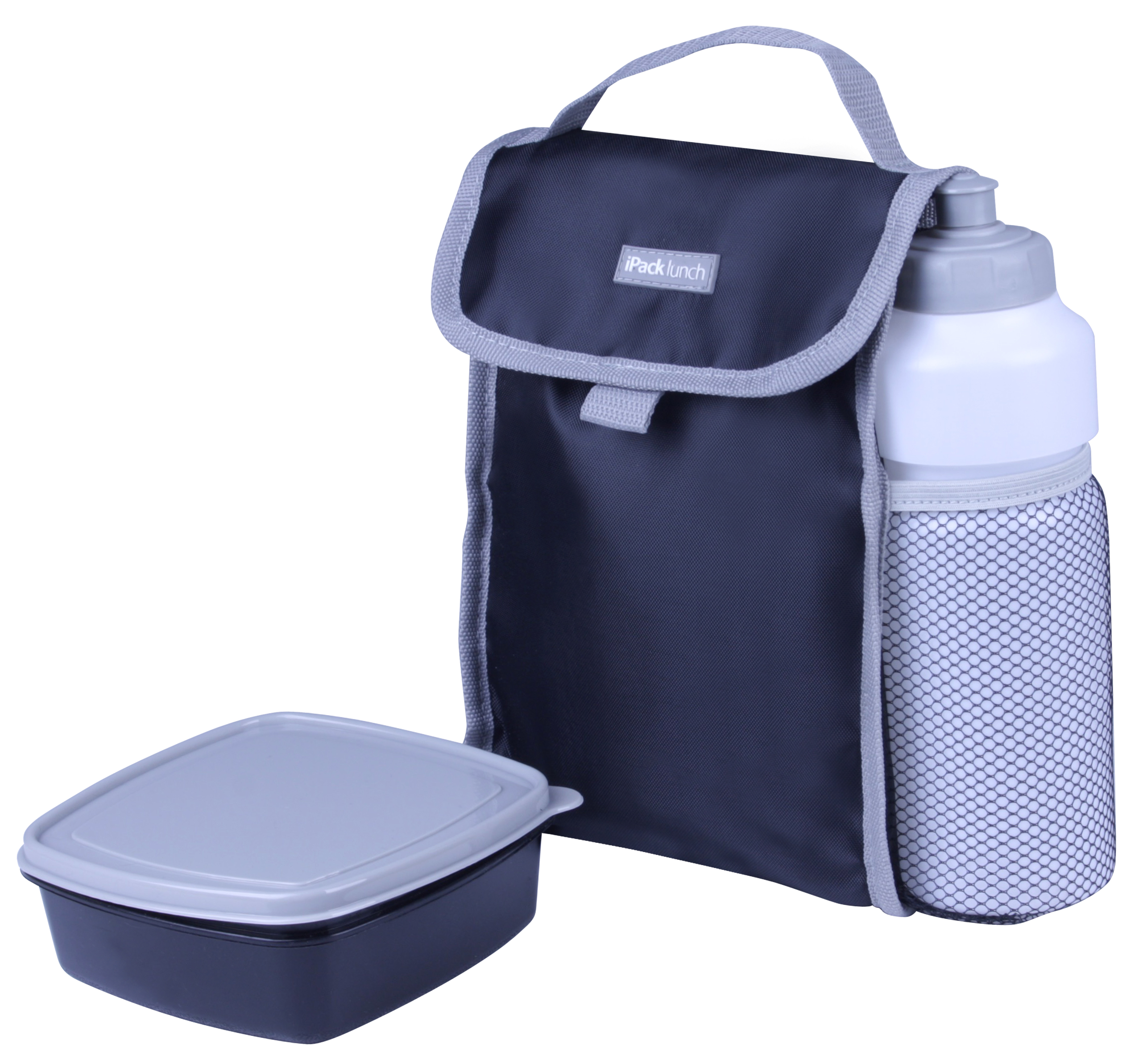 iPack Lunch Kit 3 Piece Black