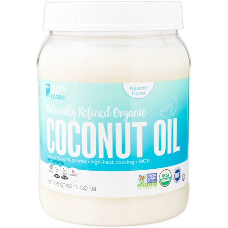 French Vanilla Flavor Oil - BetterBody Foods Naturally Refined Organic Coconut Oil, 56 Oz