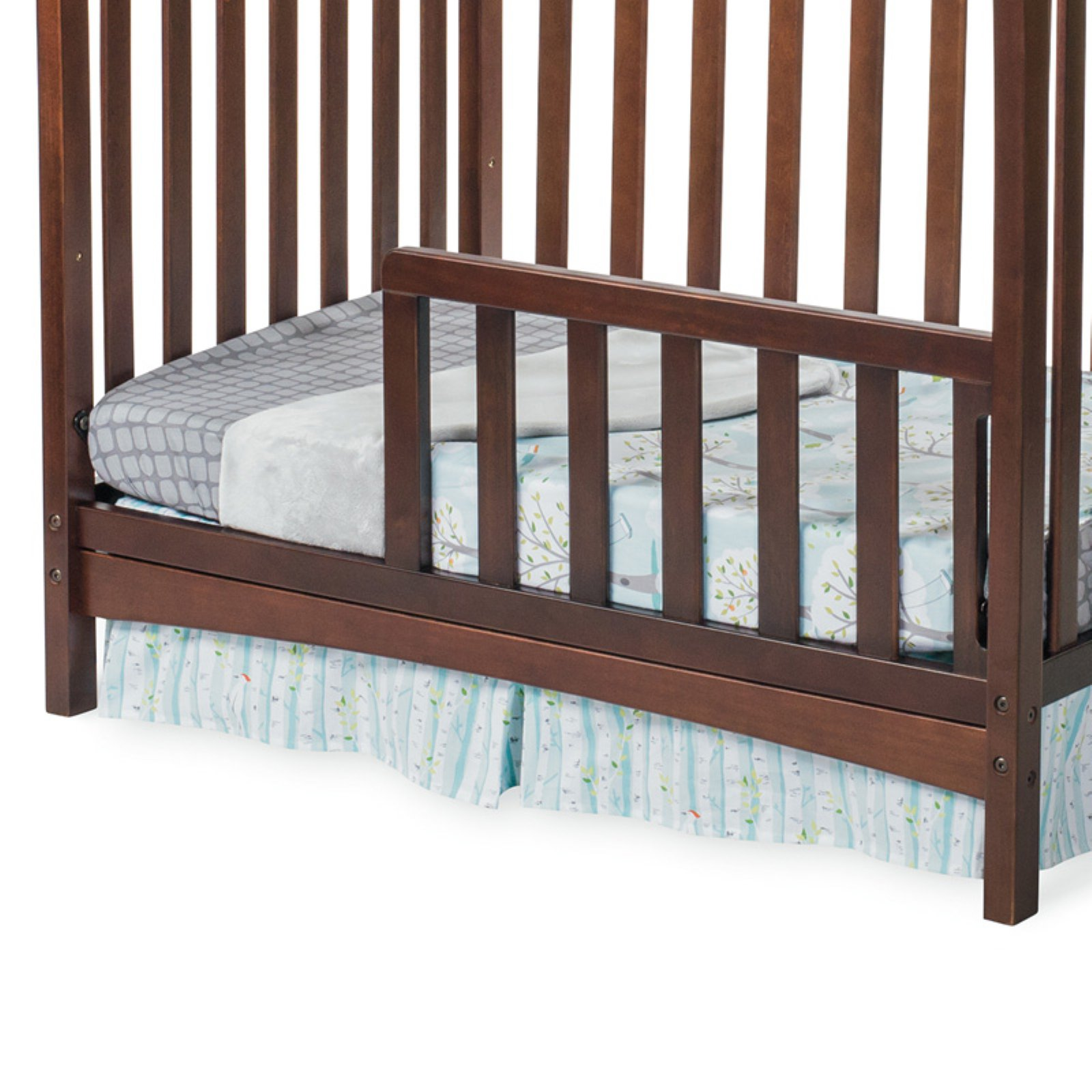 Child Craft Toddler Guard Rail for Ashton Mini Convertible Crib Select Cherry