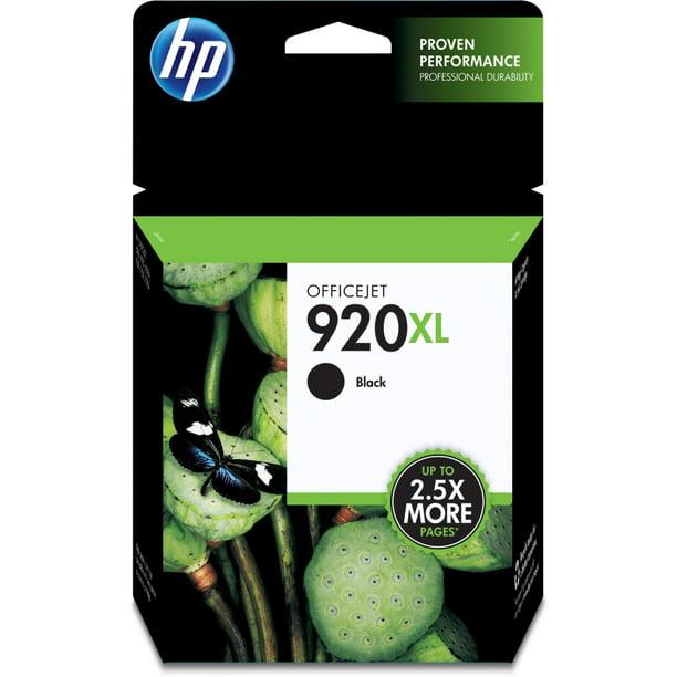 HP 920XL Ink Cartridge, Black (CD975AN) - Walmart.com ...
