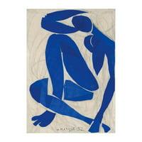 Nu Bleu IV Art Print By Henri Matisse - 24x32