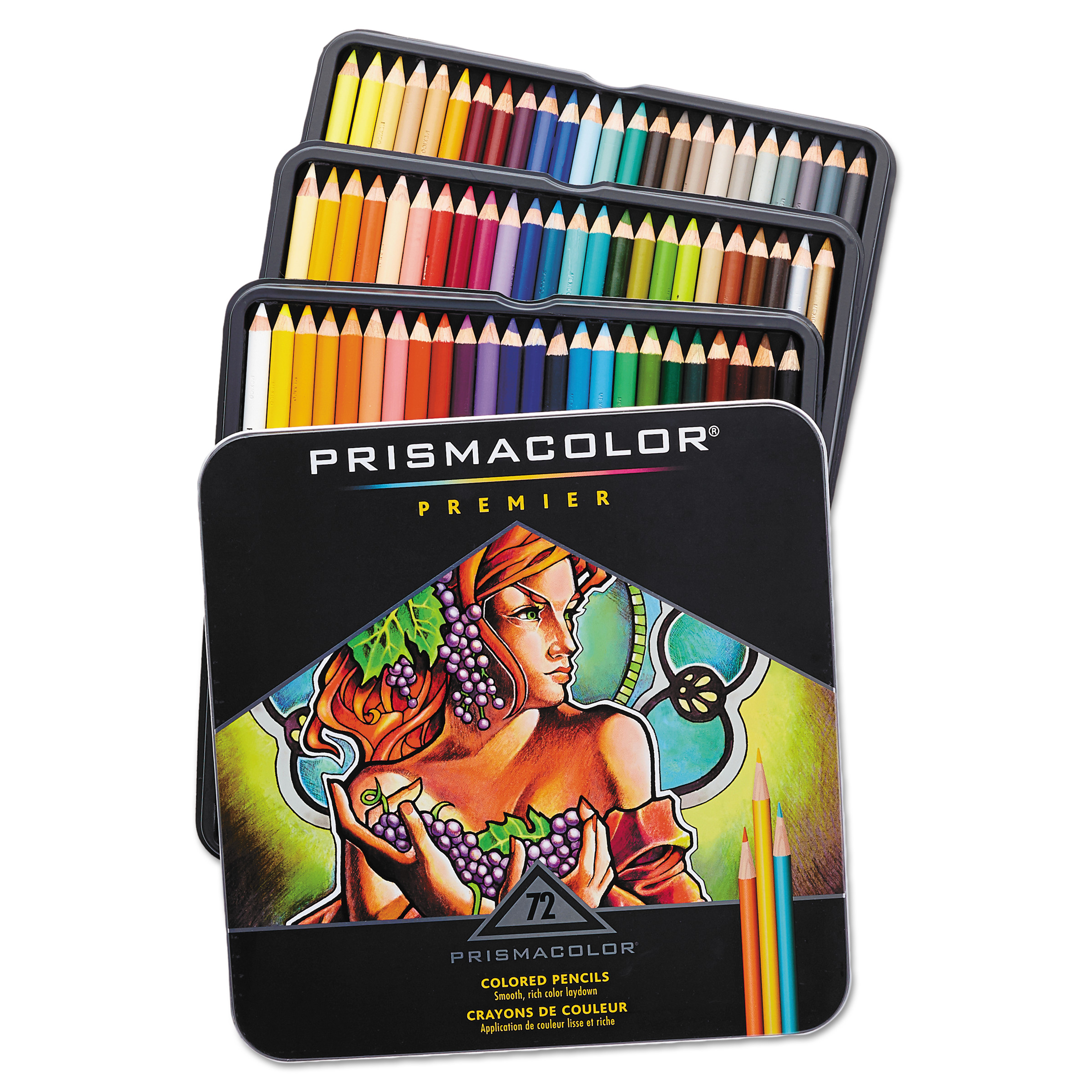 Prismacolor Colored Art Pencil Set 72 Pieces Walmart Com