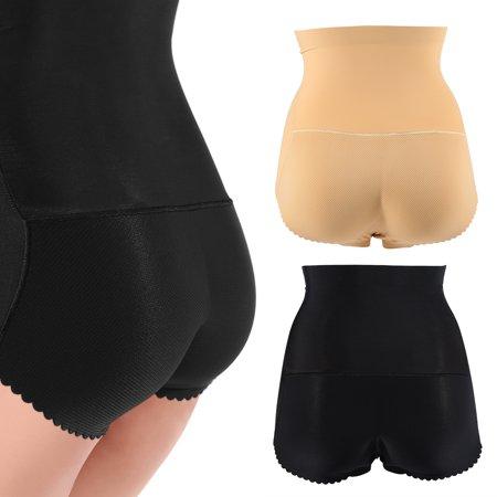 HURRISE Women Sexy Hip Lifting Padded Panties Seamless Butt Enhancer Shaper Fake Ass