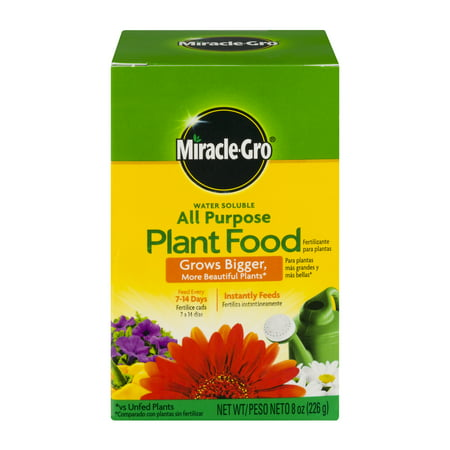 Miracle Gro 8 Oz  All Purpose Plant Food Fertilizer
