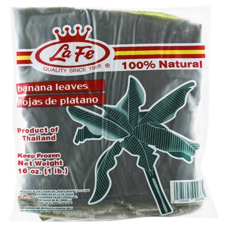 Banana Leaves Plantains Leaves Hoja De Platano for Cooking and Decoration 16oz