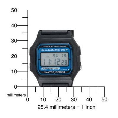 cheap for discount 7a4d8 c90e6 Men's F105W-1A Illuminator Digital Sport Watch, Black