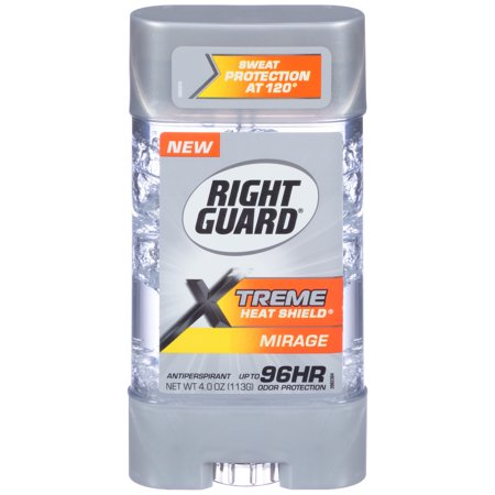 Right Guard Xtreme Heat Shield Antiperspirant Deodorant Gel, Mirage, 4 -