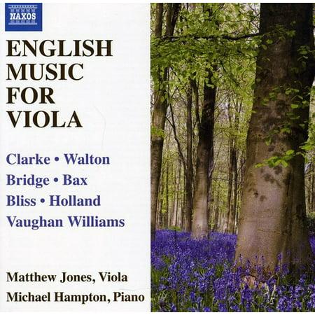 English Chamber Music (English Music for Viola)