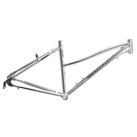 17  Marin Larkspur Womens 700C Hybrid City Bike Frame Silver Aluminum Nos New
