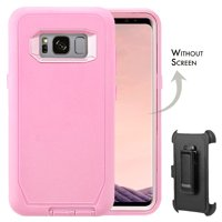 Galaxy S8 Case, [Full body] [Heavy Duty Protection] Shock Reduction / Bumper Case WITHOUT Screen Protector for Samsung Galaxy S8 2017 Release
