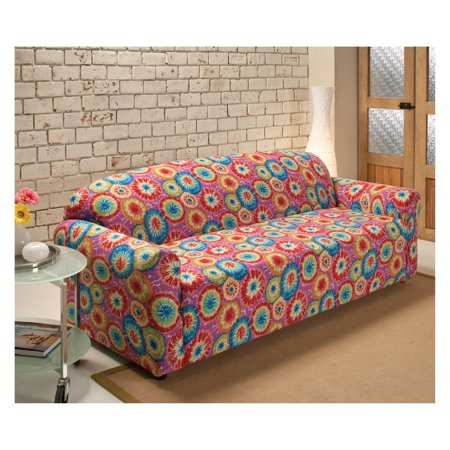 Enjoyable Madison Industries Tie Dye Jersey Sofa Cover Spiritservingveterans Wood Chair Design Ideas Spiritservingveteransorg