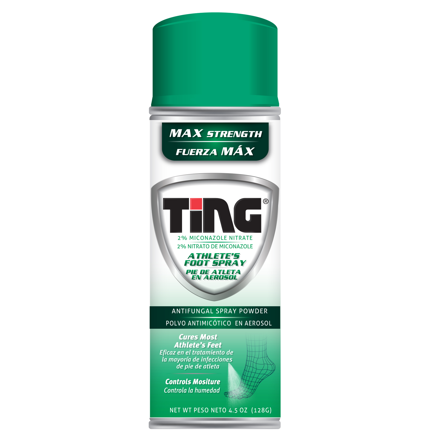 TING ANTIFUNG PWD 4.5OZ SPRY 12