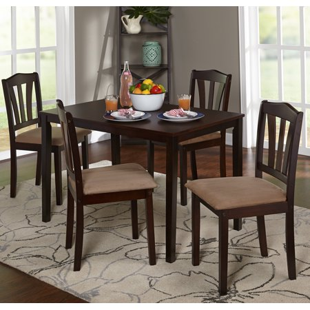Metropolitan 5-Piece Dining Set, Multiple Colors (Solid Hardwood 5 Piece)