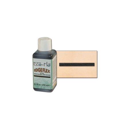 Tandy Leather Eco-Flo Edgeflex Edge Paint 8.5 fl. oz. (250ml) Black (Eco Flo Leather Dye)