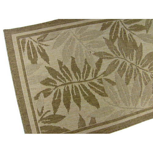American Mills Palm Island Chocolate Indoor/Outdoor Area Rug