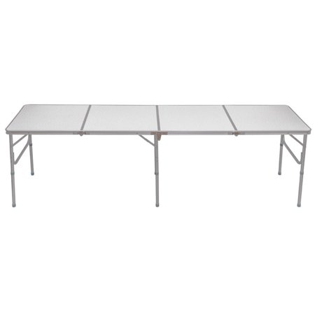 8 Ft Aluminum Folding Picnic Camping Table