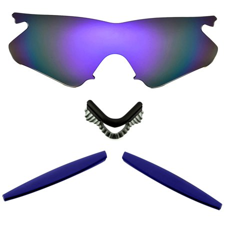 Lenses Kit Compatible with OAKLEY M Frame Heater Polarized Purple & Navy (A Frame Oakley Goggles)