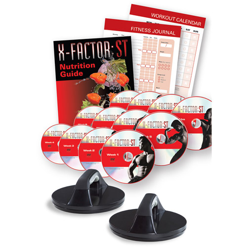 Weider X-Factor: ST - Complete 12 DVDs Workout Program