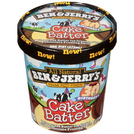 Cake Batter Ben And Jerry