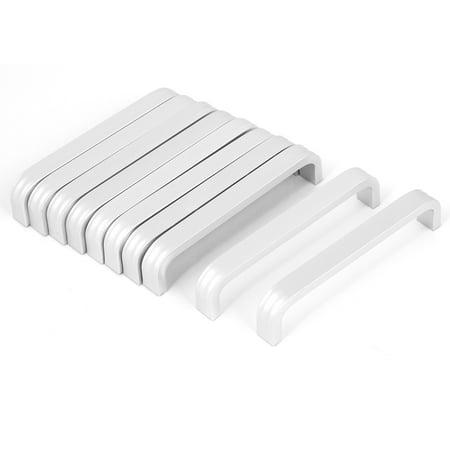 Palm Tree Drawer Pulls (Drawer Cabinet Cupboard Closet Door Bow Shape Aluminium Pull Handle 10pcs )
