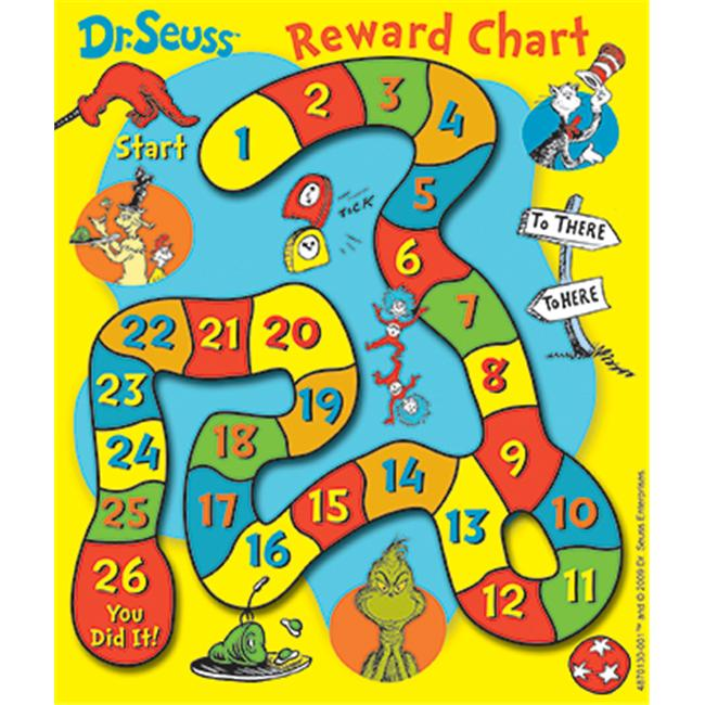EUREKA EU-837013 DR SEUSS GAME MINI REWARD CHARTS