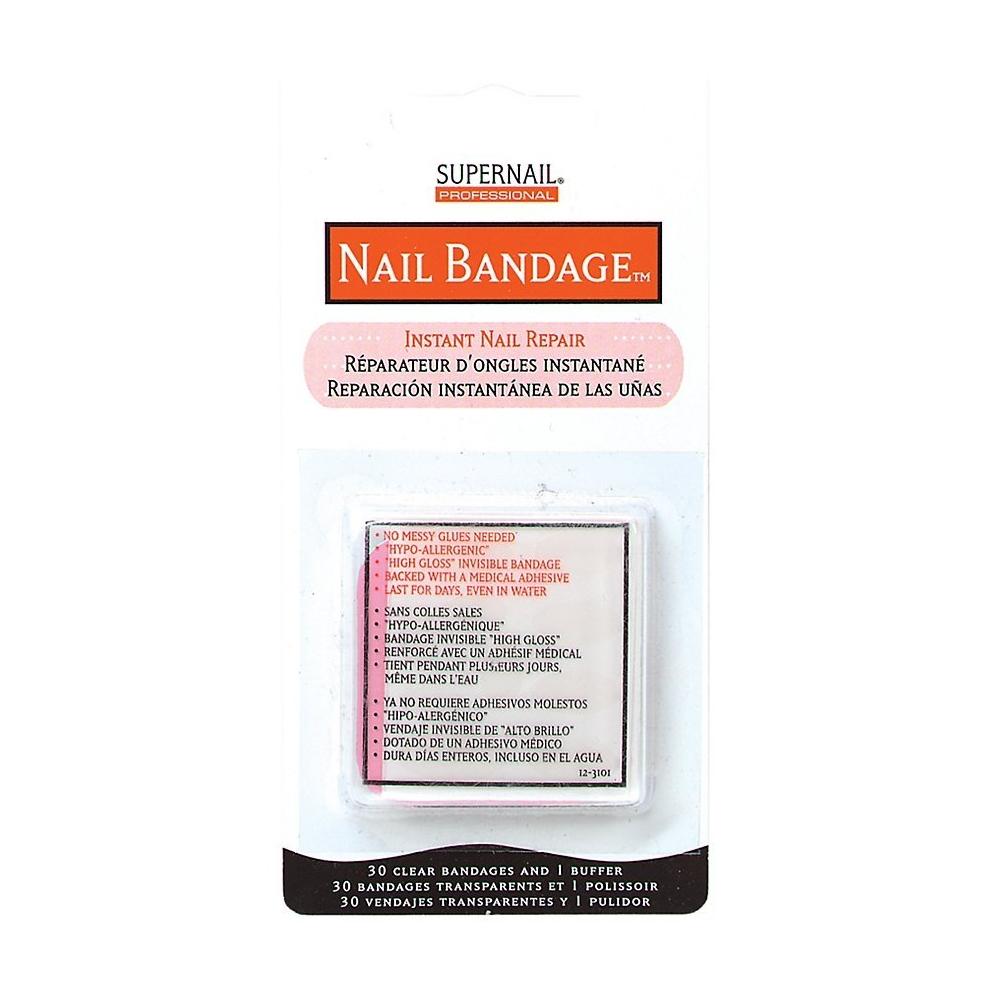 Supernail Nail Bandage Instant Nail Repair, 30 Count