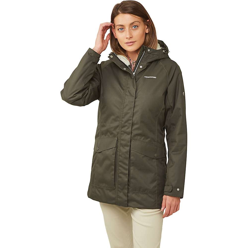 Craghoppers Womens Madigan Classic Thermic III Jacket Loch Blue CWP1008