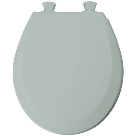 Wood Toilet Seat Walmart.Mayfair 16 5 Round Seafoam Green Molded Wood Toilet Seat