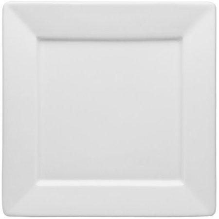 Haviland Porcelain Plates (HIC Porcelain Square Rim Square Salad / Dessert Plate 8.5-inch)
