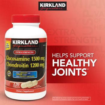 Kirkland Signature Glucosamine   Chondroitin  220 Tablets